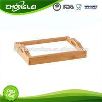 Super Quality SGS Wholesale Price Bamboo Fiber Tray