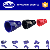1 1/2 inch silicone rubber tubing/ colored polyester fabric straight reducer radiator hose manufacturer
