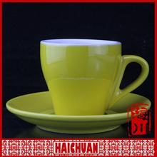 Four season printing tea or coffee cup saucer sets