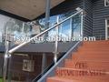 Interior de acero inoxidable escalera de rieles yg-b36