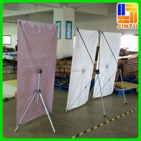 Standard X Banner Vertical Advertising Display Stand