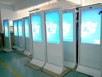 """42"""" Inch floor stand lcd/led monitor display"""