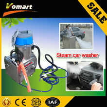 2014 new mobile steam car washer with vacuum Cleaner steam dust sucking machine