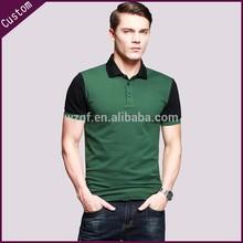 La costumbre de los hombres las prendas de algodón con cuello