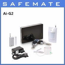 New Product Intelligent alarm security system/GSM wireless home business security