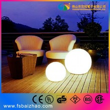 30cm rechargeable waterproof led light ball illuminated led ball light for sale