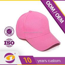 2012 sport black 6 panel high quality export cotton head cap
