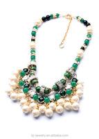 Yiwu Factory Direct Sale designer bulk plastic pearl necklaces