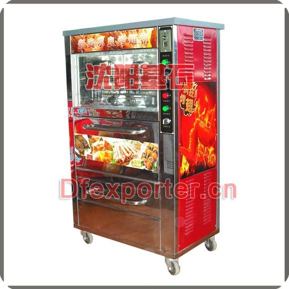 roasted corn machine