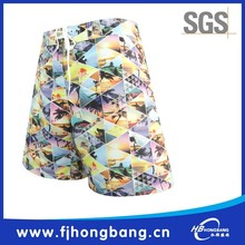 100% polyester digital printing waterproof beach resort wear