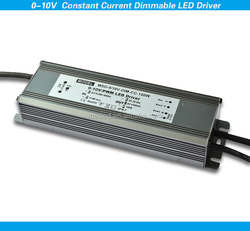 3500mA High PFC&High efficiency IP67 150w 0-10V constant current dimmable waterproof led controller for the road light