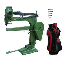 Fully automatic golf bag reusable container riveting machine