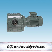 STdrive model S57 helical worm reduction gearbox with 3phase AC motor unit