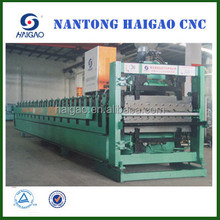 low price Double Layer CNC color steel plate roll forming machine/ metal roofing/roofing tile