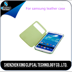 Shockproof leather cheap mobile phone case for samsung i9200 from shenzhen china
