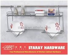 HCJ703C 2 Layer Modular Kitchen Dish Rack Holder