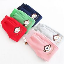 S30355W newest design fashionable comfortable lovely baby girl money appliqued warm cotton long pants