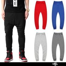 Wholeslae 5 colors custom mem baggy jogger slim fit sweatpants for hip hop dance