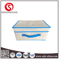 folding hearing aid storage box with cover