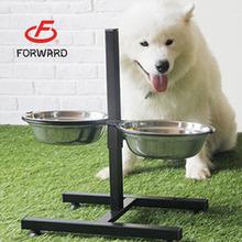 beauty pet/dog/cat bowl with shelf