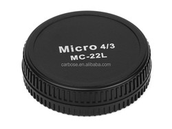 Pixel MC-22B/MC-22L Micro 4/3 camera body cover +Lens Cover for Olympus and Panasonic