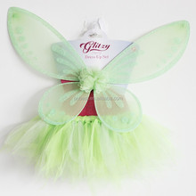 2015 New coming big angel wings wholesale fashion handmade tutu skirt party carnival halloween costumes fairy wings for kids
