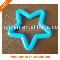 Plastic fashion ring various colors for toy