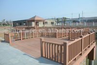 Eco-friendly waterproof anti-uv wpc railing/handrail