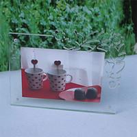 Creative Flower Table Frame Acrylic Display Stand
