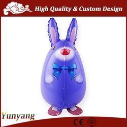 Rabbit walking pet balloons, walking balloon animals