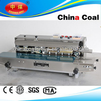 Continuous plastic bag sealing machine /verticle band sealer