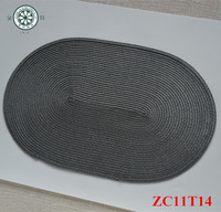 recycled oval paper placemats restaurant napkin disposable oval weave paper placemats kitchen food decorative paper placemat