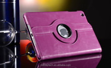 PU leather 360 degree rotate case for ipad case