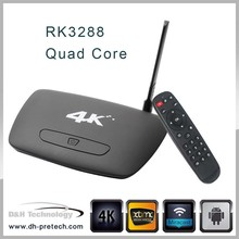 android media player bluetooth skype RK3288 quad core wifi android TV BOX
