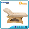 wood beauty bed therapeutic massage bed