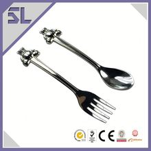 Lovely Teddy Bear Kinds Of Spoon And Fork Metal Baby Spoon And Fork Set Ideas For New Of Business