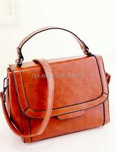 2015 custom fashion design real leather lady handbags women bags