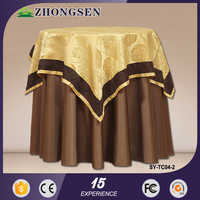 wholesale hotel restaurant luxury banquet wedding poker table speed cloth nappe table cloth