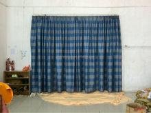 Ready made drapery fabric