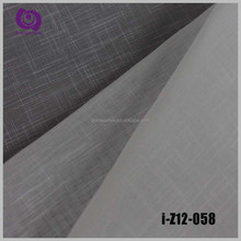 Factory Wholesale Poly Jacquard Linen Voile Slub Curtain Drapery Fabric