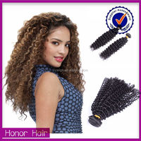 Take it home! Angel 100% unprocessed natural color virgin brazilian remy hair for cheap