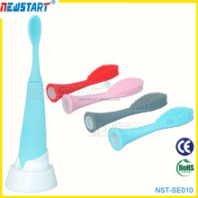 Soft silicone toothbrush Sonic Electrical rechargeable toothbrush