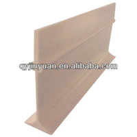 5.0inch FRP/GRP plastic/iron floor support beams for pig/poultry animal building construction