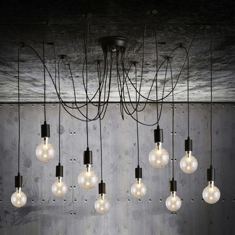 edison filament ampoule vintage lustre pendentif lampe. Black Bedroom Furniture Sets. Home Design Ideas
