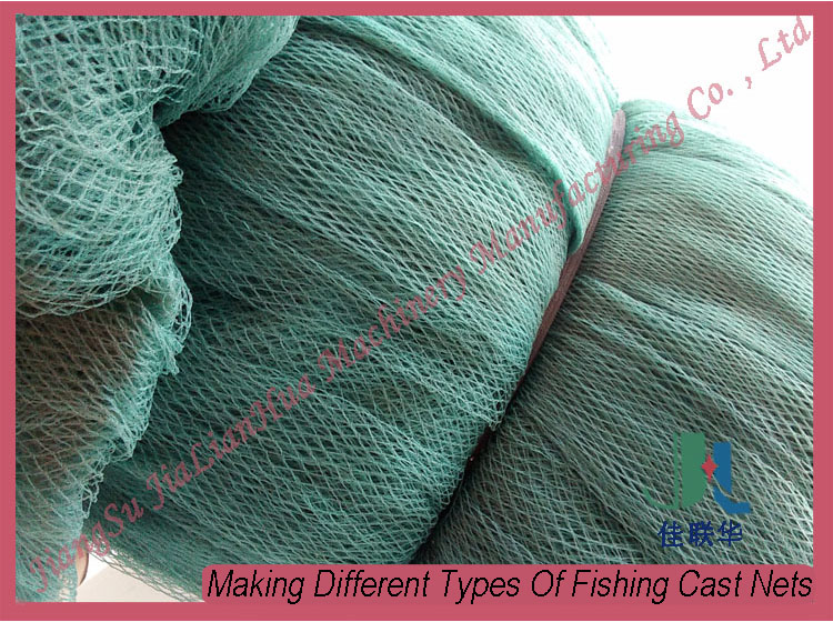 Fishing nets types for How to make a fishing net