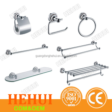 2RC-89500 smc shower tray and swivel towel bar with metal wire basket