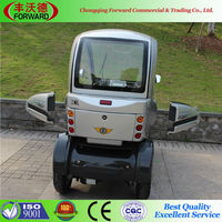 4 Wheels Low-pressure Tire Convenient Operation Electric Tricycle For Passenger
