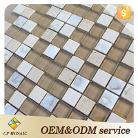 Building Material 300*300mm Mother Of Pearl Shell Mosaic Tile