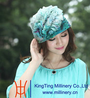 New York Style Organza Hats Formal Hats for Women