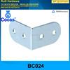 mini corner brace for suitace case corner clamp chrome plating embossed